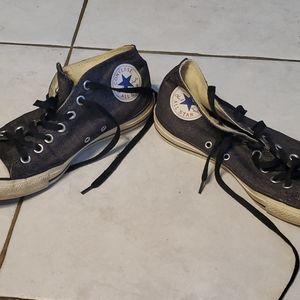 Converse Shoes - Heather Black Converse